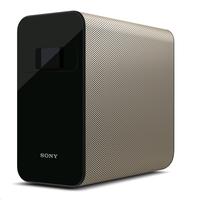 Sony Xperia Touch Tragbarer Projektor 100ANSI Lumen SXRD WXGA (1366x768) Schwarz, Braun Beamer (Schwarz, Braun)