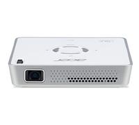Acer Portable LED C101i Smart-Projektor 150ANSI Lumen DLP WVGA (854x480) Weiß Beamer (Weiß)