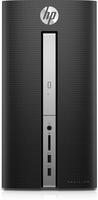 HP Pavilion Desktop PC – 570-p567ng (Schwarz)