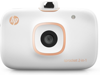 HP Sprocket 2-in-1 ZINK (Zero ink) 313 x 400DPI Fotodrucker (Weiß)