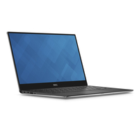 DELL XPS 9360 1.8GHz i7-8550U 13.3Zoll 3200 x 1800Pixel Schwarz, Silber Notebook (Schwarz, Silber)