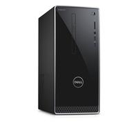 DELL Inspiron 3668 3.9GHz i3-7100 Desktop Schwarz, Grau PC (Schwarz, Grau)