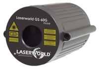 Laserworld GS-60G move Geeignet für die Verwendung innen Disco Laserprojektor Schwarz (Schwarz)
