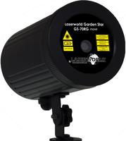 Laserworld GS-70RG move Geeignet für die Verwendung innen Disco Laserprojektor Schwarz (Schwarz)