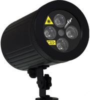 Laserworld GS-80RG LED Geeignet für die Verwendung innen Disco Laserprojektor Schwarz Stroboskop & Disco-Licht (Schwarz)