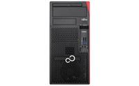 Fujitsu ESPRIMO P557 3.9GHz i3-7100 Desktop Schwarz, Rot Dampfmaschine (Schwarz, Rot)