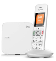 Gigaset E370 Analog/DECT telephone Weiß (Weiß)