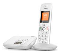 Gigaset E370A Analog/DECT telephone Weiß (Weiß)