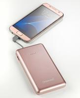 Intenso S10000 Lithium Polymer (LiPo) 10000mAh Pink Akkuladegerät (Pink)