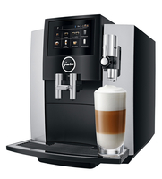 JURA S8 Freistehend Vollautomatisch Espressomaschine 1.9l 16Tassen Schwarz, Silber (Schwarz, Silber)