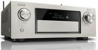 Denon AVR-X6400H 140W 11.2Kanäle Surround 3D Silber AV-Receiver (Silber)