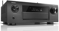 Denon AVR-X6400H 140W 11.2Kanäle Surround 3D Schwarz AV-Receiver (Schwarz)