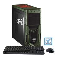 Hyrican Military Gaming 5685 3.7GHz i7-8700K Schwarz, Grün PC (Schwarz, Grün)