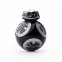 Sphero Star Wars BB-9E App-Enabled Droid Roboter (Schwarz, Grau)