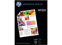 HP Professional Glossy Laser Paper 150 gsm-150 sht/A4/210 x 297 mm A4 (210×297 mm) Glanz Weiß Druckerpapier (Weiß)