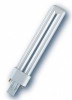 Osram DULUX S 9 W/827 Leuchtstofflampe (Weiß)