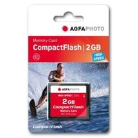 AgfaPhoto Compact Flash, 2GB (Schwarz)