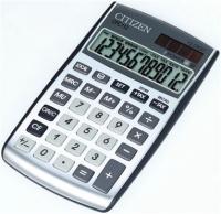 Citizen CPC112 Taschenrechner (Silber)