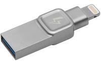 Kingston Technology DataTraveler Bolt Duo, 32GB 32GB USB 3.0 (3.1 Gen 1) Typ A Silber USB-Stick (Silber)