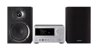 ONKYO CS-N575D Home audio mini system 40W Schwarz, Silber (Schwarz, Silber)