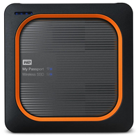 Western Digital My Passport 500GB WLAN Grau, Orange (Grau, Orange)