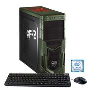 Hyrican Military Gaming 5681 3.7GHz i7-8700K Schwarz, Grün PC (Schwarz, Grün)