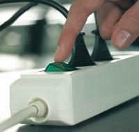 Brennenstuhl Eco-Line + Switch (Grau, Silber)