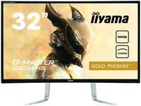 iiyama G-MASTER G3266HS-B1 31.5Zoll Full HD VA Matt Schwarz Gebogen Computerbildschirm (Schwarz)