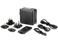 HP 65W Smart Travel AC Adapter (Schwarz)