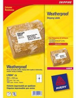 Avery Weatherproof Shipping Labels (Weiß)