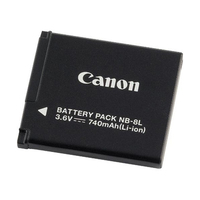 Canon NB-8L (Schwarz)