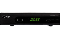 Xoro HRK 7618 Kabel Full-HD Schwarz TV Set-Top-Box (Schwarz)