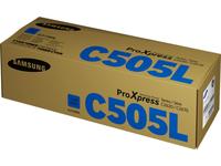 HP Samsung CLT-C505L Cyan Tonerkartusche mit hoher Reichweite