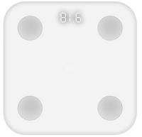 Xiaomi Mi Body Composition Scale Quadratisch Weiß Elektronische Personenwaage (Weiß)