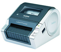 Brother QL-1060N CD Label-Drucker (Grau, Metallisch)