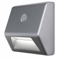 Osram Nightlux Stair Geeignet für die Verwendung innen Für die Nutzung in Außenbereich geeignet Silber Wandbeleuchtung (Silber)