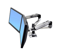 Ergotron LX Series Dual Side-by-Side Arm (Silber)