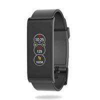 MyKronoz ZeFit4 HR Wristband activity tracker 1.06Zoll TFT Kabellos IP67 Schwarz (Schwarz)