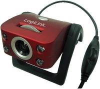 LogiLink USB Webcam (Rot)