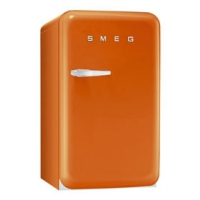 Smeg FAB10RO Kombi-Kühlschrank (Orange)