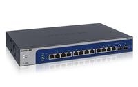 Netgear XS512EM gemanaged L2 10G Ethernet (100/1000/10000) 1U Blau, Grau (Blau, Grau)
