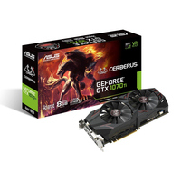 ASUS CERBERUS-GTX1070TI-A8G GeForce GTX 1070 Ti 8GB GDDR5 (Schwarz)