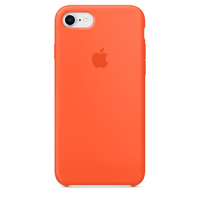 Apple iPhone 8 / 7 Silikon Case (Orange)