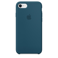 Apple iPhone 8 / 7 Silikon Case (Blau)