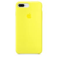 Apple iPhone 8 Plus / 7 Plus Silikon Case (Gelb)