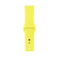 Apple MQUV2ZM/A Watch strap Fluor-Elastomer Gelb Uhrenarmband (Gelb)