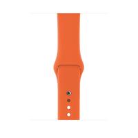 Apple MQUW2ZM/A Watch strap Fluor-Elastomer Orange Uhrenarmband (Orange)