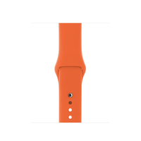 Apple 38 mm Sportarmband, Blitz (Orange)
