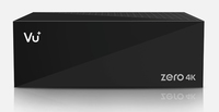 Vu+ Zero 4K Satellit Full-HD Schwarz TV Set-Top-Box (Schwarz)