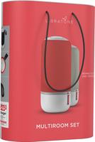 Libratone Zipp Mini Tragbarer Stereo-Lautsprecher 60W Grau, Rot (Grau, Rot)
